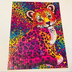 Lisa Frank 100 Piece Puzzle On the Go Snow Leopard